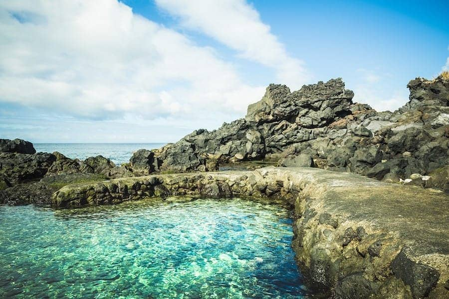 natural pools in the azores