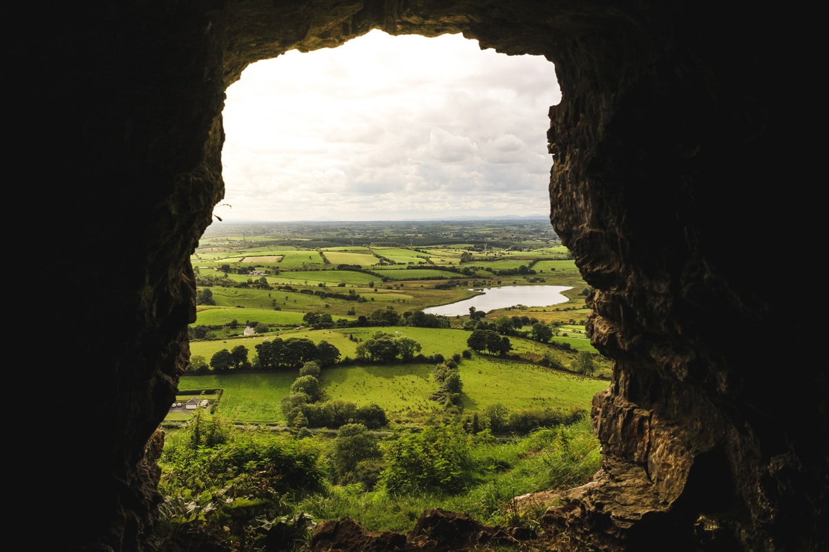 caves of keash county sligo ireland