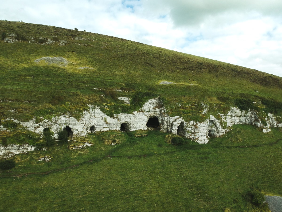 caves of keash in county sligo ireland