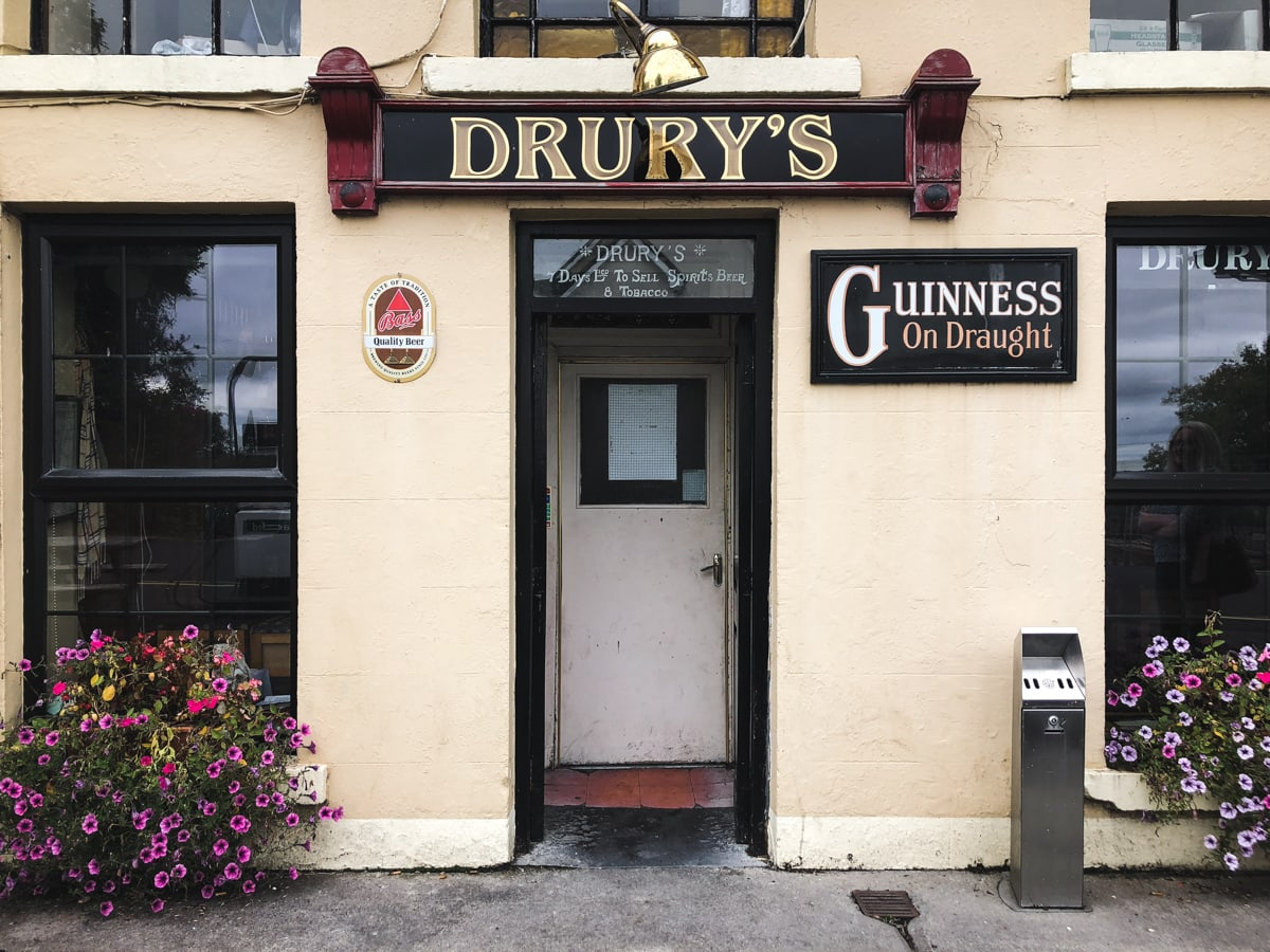 drurys pub in sligo ireland