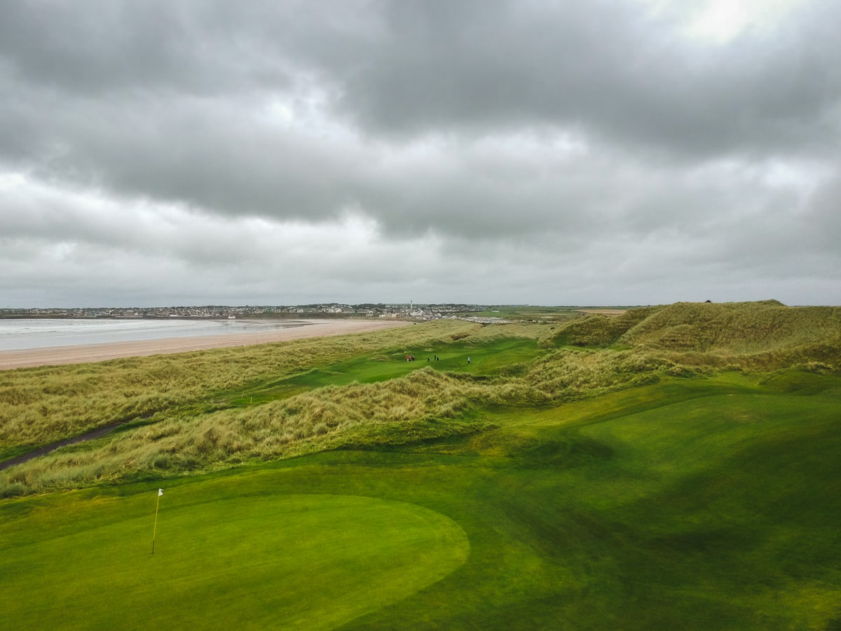 enniscrone championship links course sligo ireland