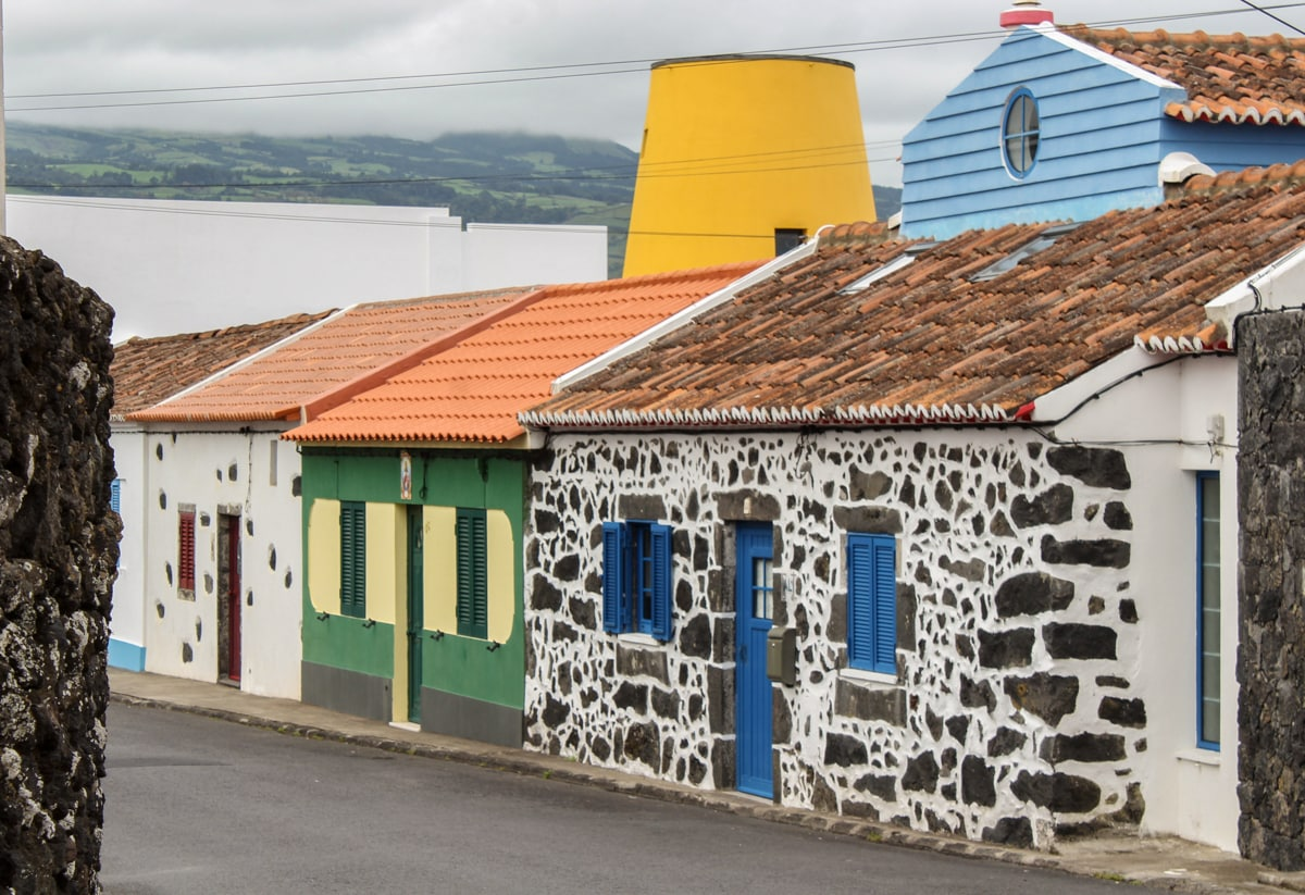 old whaling station in capelas in the azores