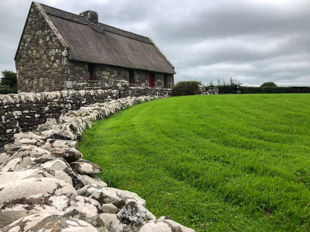 replica of michael colemans house near gurteen in county sligo ireland