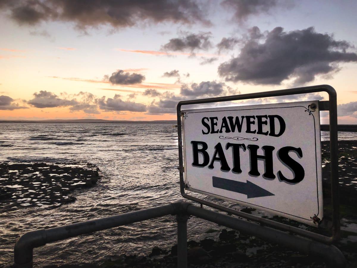 seaweed baths kilcullens in enniscrone sligo ireland
