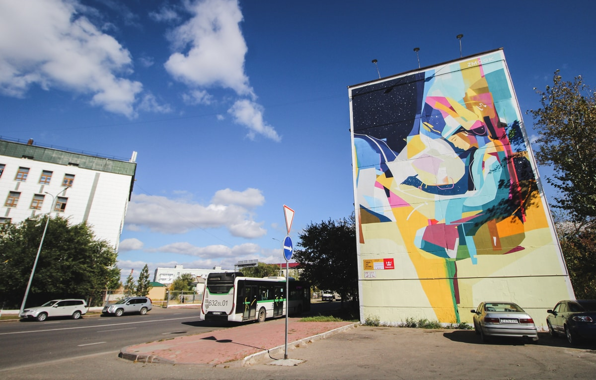 street art in astana kazakhstan
