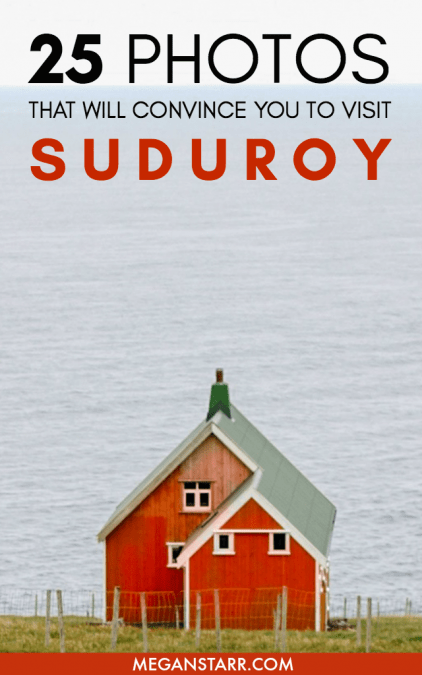 Suduroy is the southernmost island in the Faroe Islands and it is distinct in its nature and culture. These photos will convince you to visit Suduroy! #suduroy #faroeislands #scandinavia #nordics #europe #faroeislandsphotos