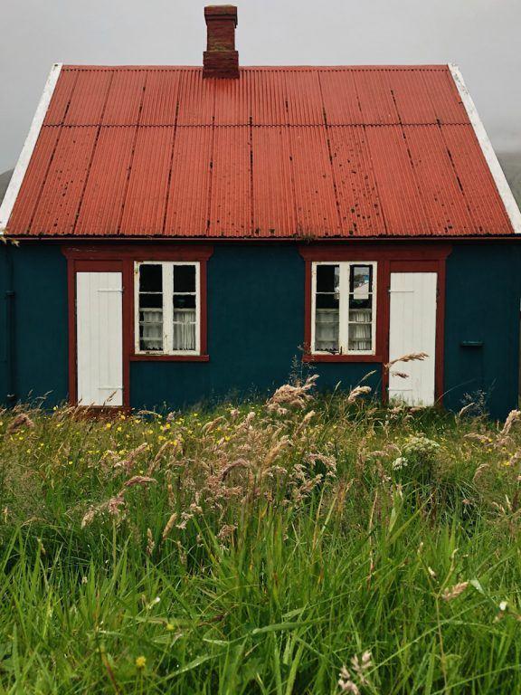 house in tvoroyri on suduroy in faroes