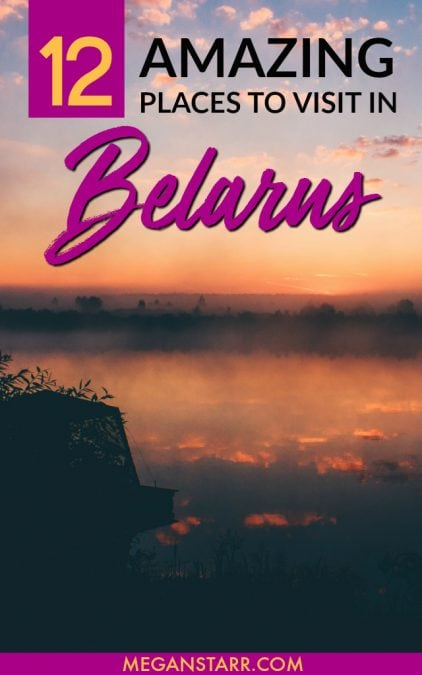 Since becoming visa-free, Belarus is one of the hottest emerging destinations in Europe. This is a list of amazing places to visit in Belarus. #belarus #europe #easterneurope #minsk #brest #grodno #vitebsk