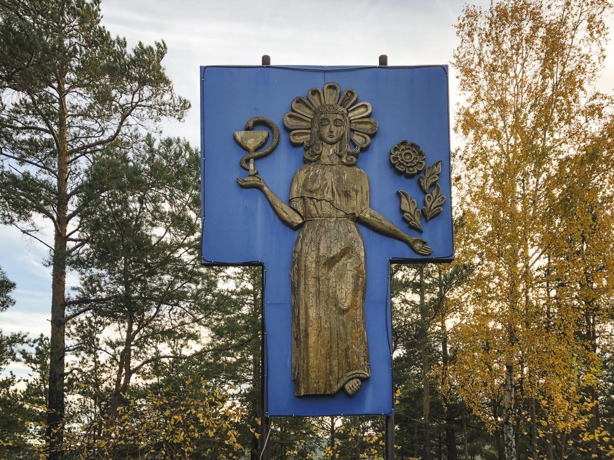 Burabay National Park - Borovoe and Chebache Lakes in Kazakhstan-36 soviet sanatorium Zeloniy Bor Sanatorium