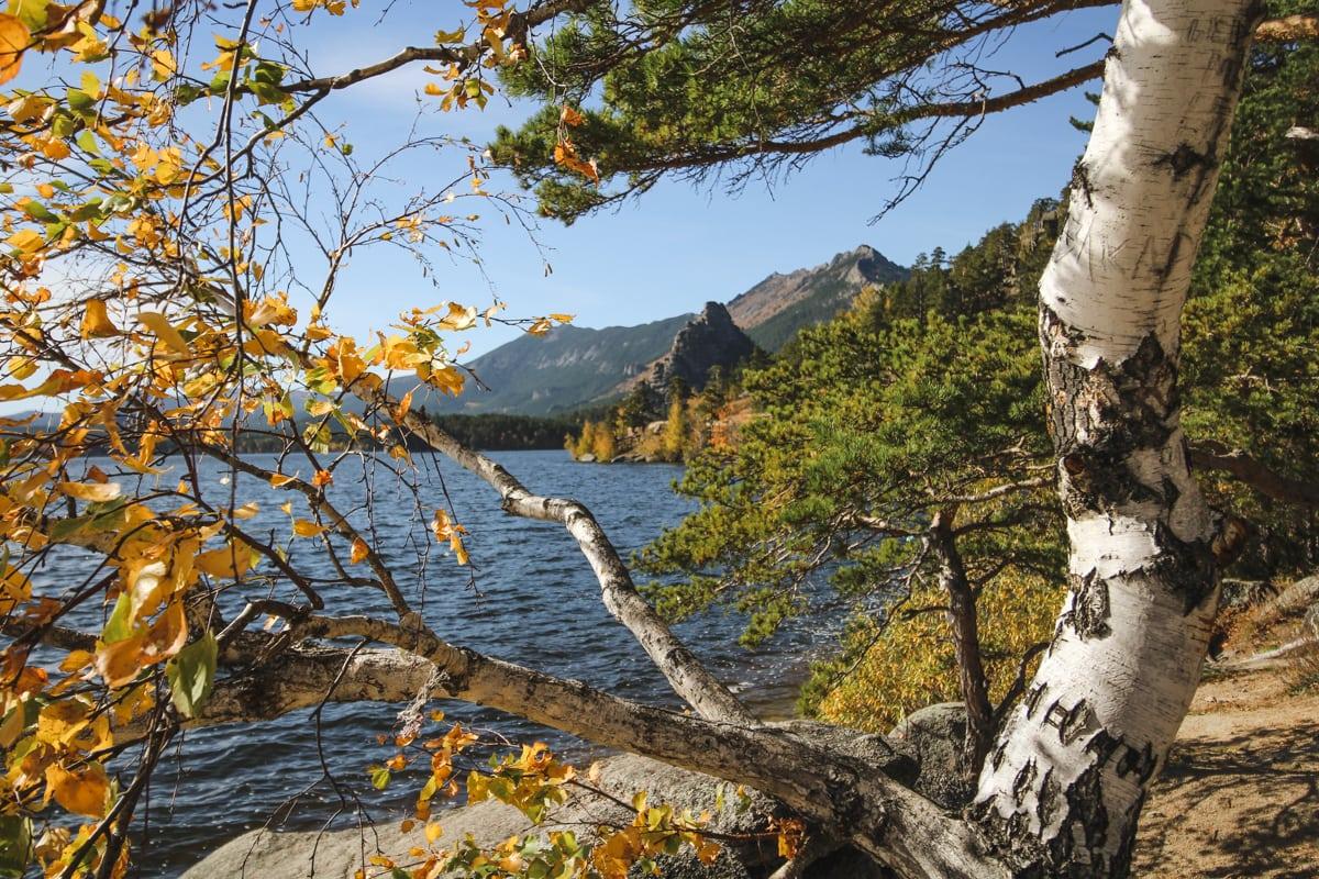 Burabay National Park - Borovoe and Chebache Lakes in Kazakhstan-