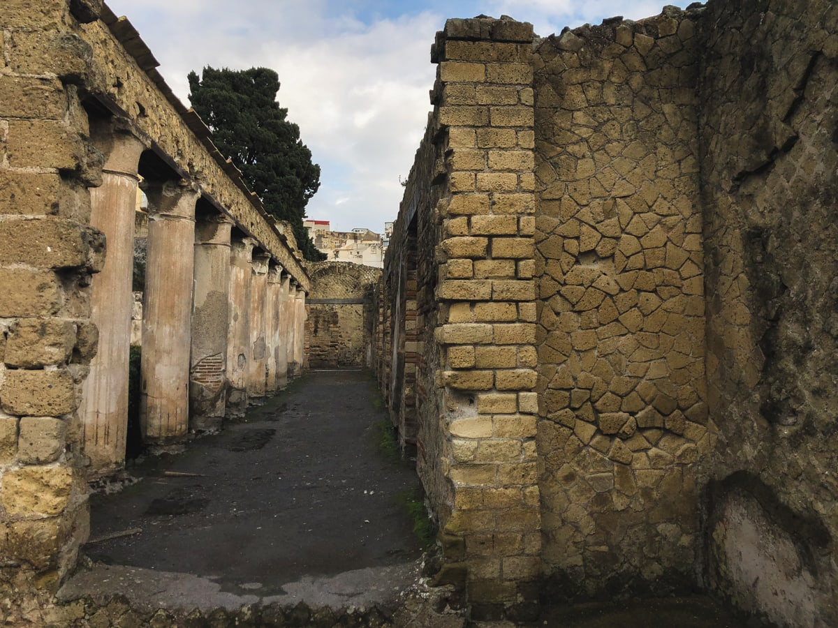 Herculaneum Italy - Ercolano Italy UNESCO World Heritage ruined by Vesuvius-1