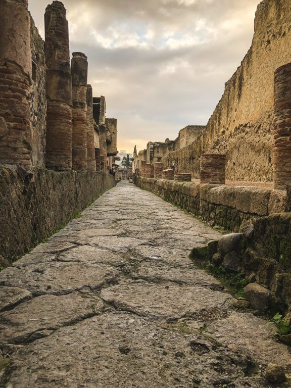 Herculaneum Italy - Ercolano Italy UNESCO World Heritage ruined by Vesuvius-10
