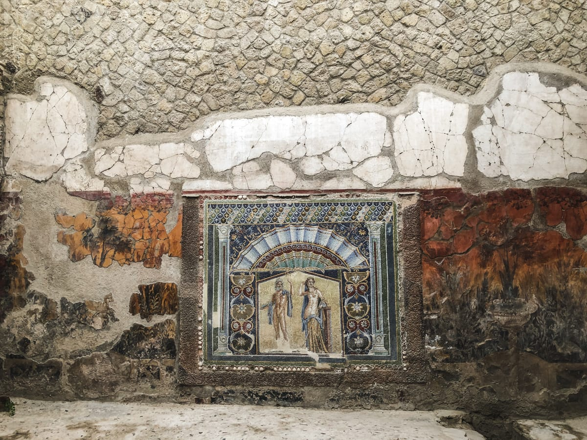 Herculaneum Italy - Ercolano Italy UNESCO World Heritage ruined by Vesuvius-13