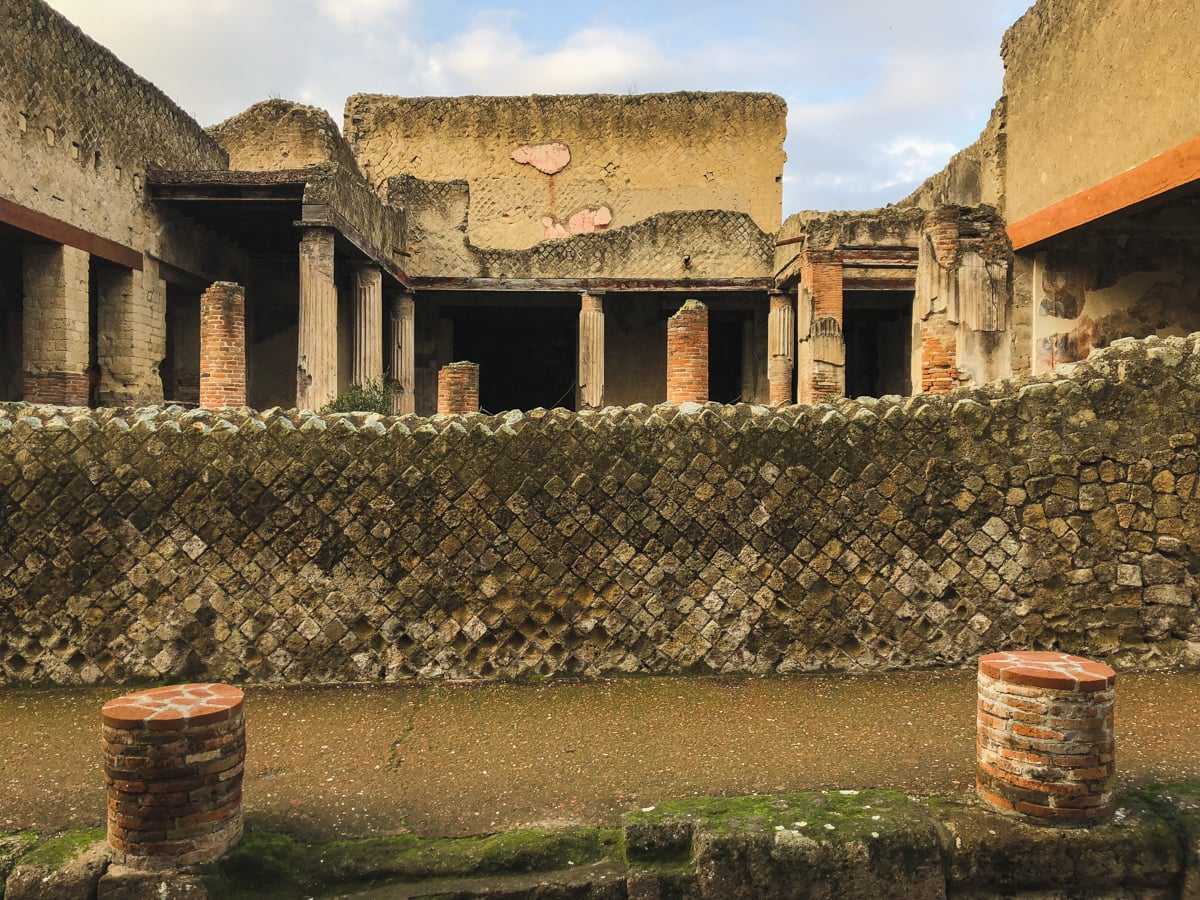 Herculaneum Italy - Ercolano Italy UNESCO World Heritage ruined by Vesuvius-14