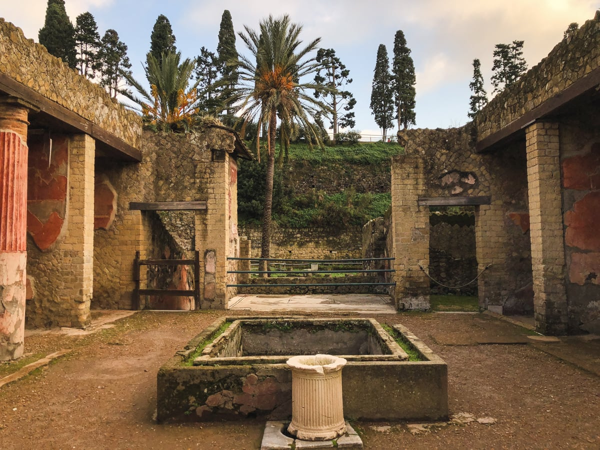 Herculaneum Italy - Ercolano Italy UNESCO World Heritage ruined by Vesuvius-20