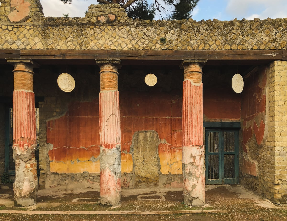 Herculaneum Italy - Ercolano Italy UNESCO World Heritage ruined by Vesuvius-21