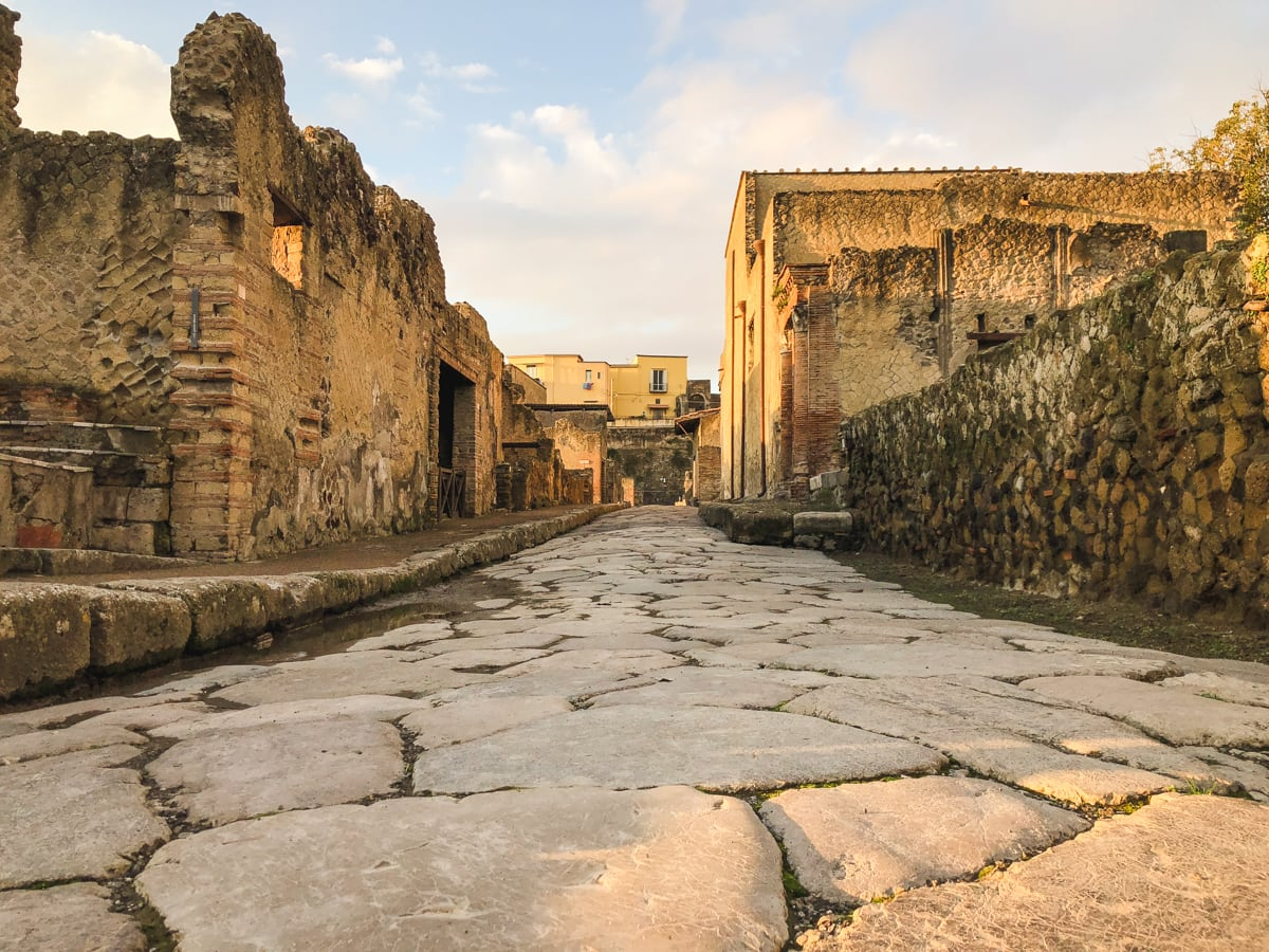Herculaneum Italy - Ercolano Italy UNESCO World Heritage ruined by Vesuvius-25