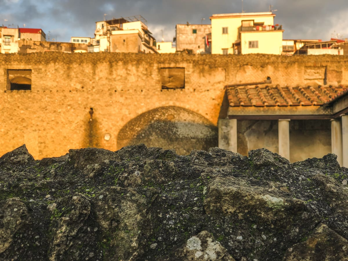 Herculaneum Italy - Ercolano Italy UNESCO World Heritage ruined by Vesuvius-28