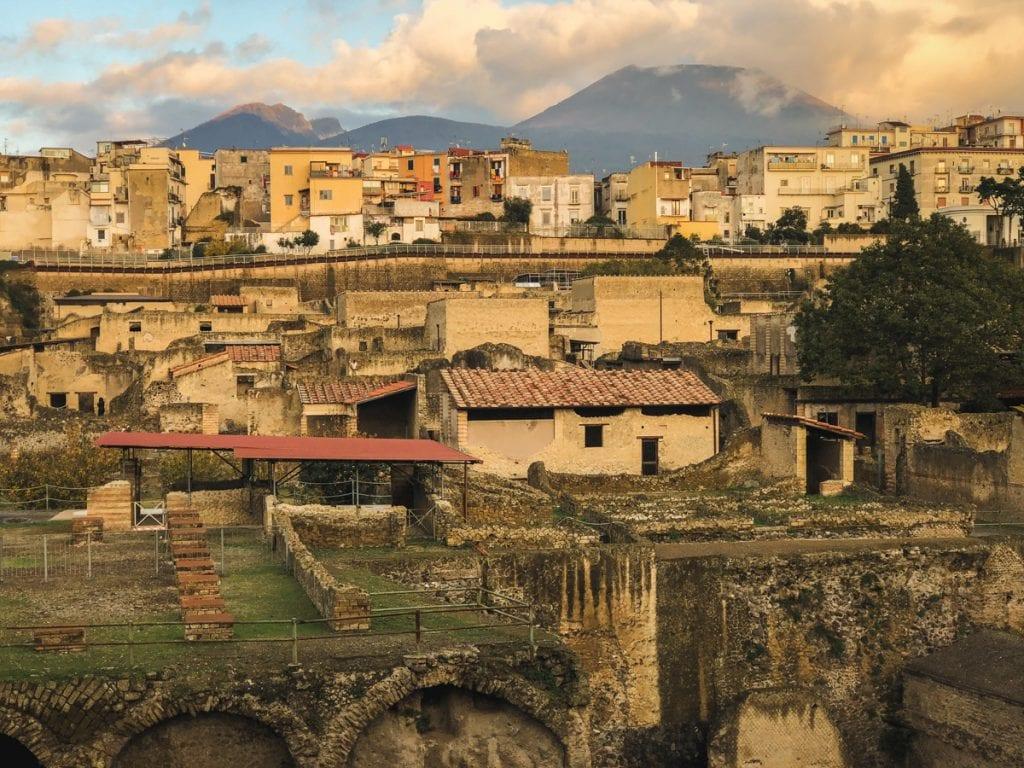 Herculaneum Italy - Ercolano Italy UNESCO World Heritage ruined by Vesuvius-30