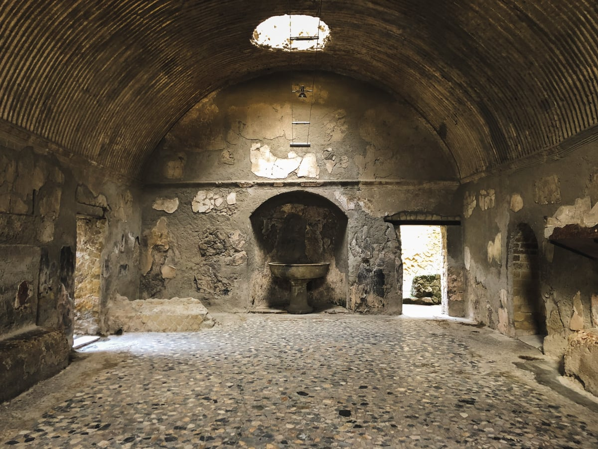 Herculaneum Italy - Ercolano Italy UNESCO World Heritage ruined by Vesuvius-8