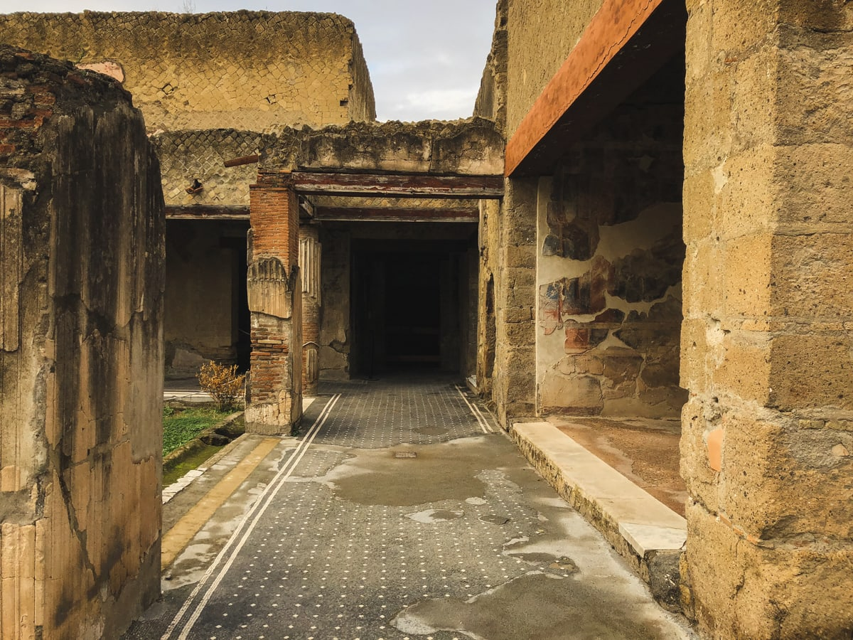 Herculaneum Italy - Ercolano Italy UNESCO World Heritage ruined by Vesuvius-9
