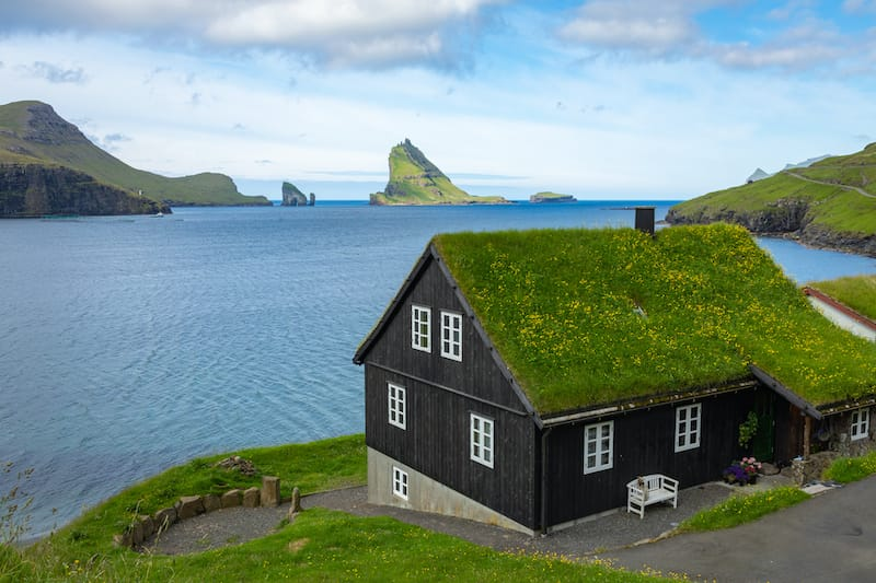 The View in Bour, Vagar in the Faroe Islands guesthouse