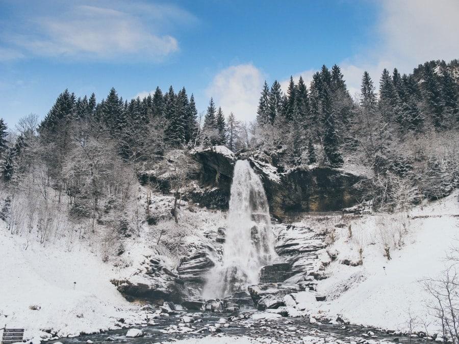 best day trips from Bergen Norway steindalsfossen waterfall