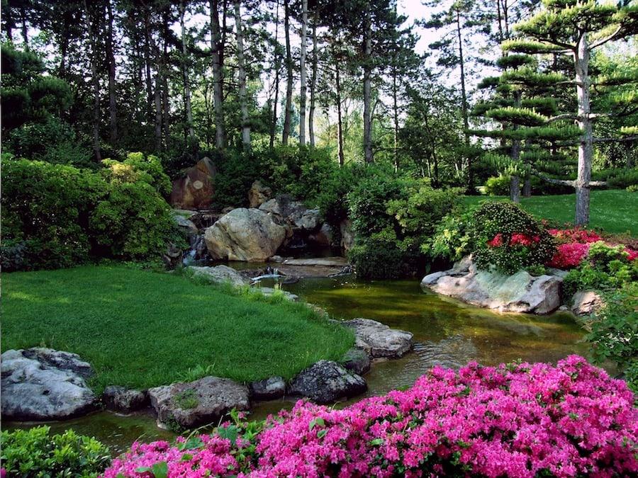 japanese gardens in dusseldorf