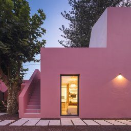 pink house hotel and guesthouse in sao miguel azores