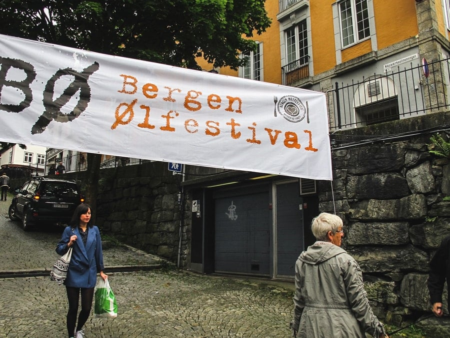 things to do in bergen norway ølfestival beer festival