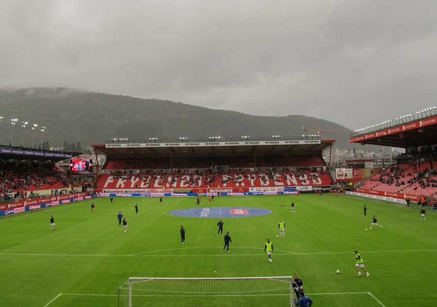 things to do in bergen norway bergen brann football team and stadium