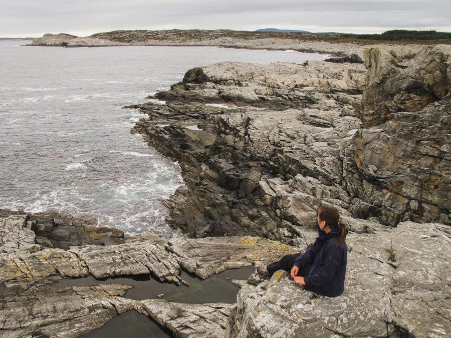 day trips from bergen, norway - austevoll coastline