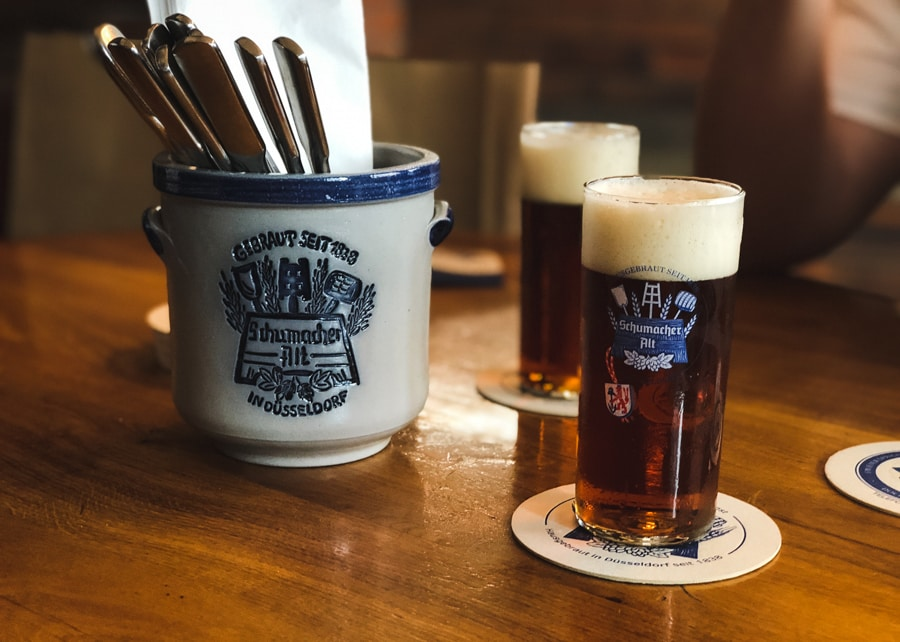 what to do in dusseldorf germany altbier at brewery schumacher