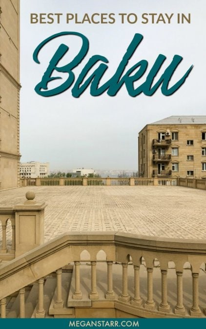 Best Hotels in Baku, Azerbaijan: Baku Accommodation for All Budgets #baku #azerbaijan #caucasus #hotelguide #hotels #hostels #airbnb #wheretostay