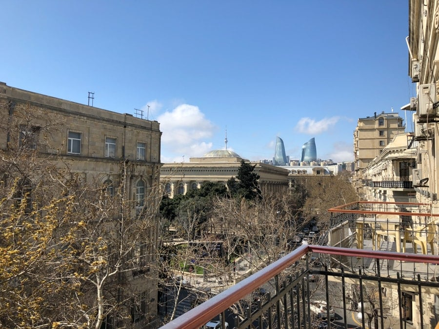 Best Hotels and Hostels in Baku- Sahil Hostel View