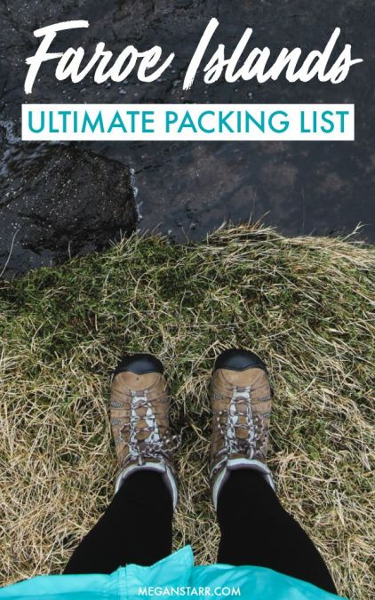 Faroe Islands Packing List: What to Pack for the Faroe Islands (All Seasons) #packingguide #faroes #faroeislands #scandinavia #nordics #whattopack #islands #packinglist