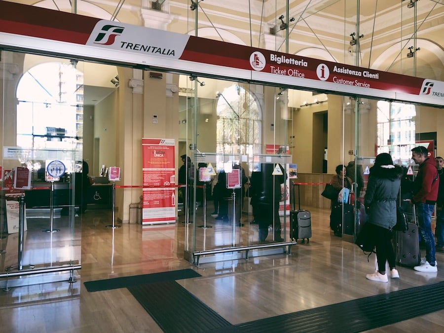 how to get from bari to polignano a mare cheaply by train ticket office in bari