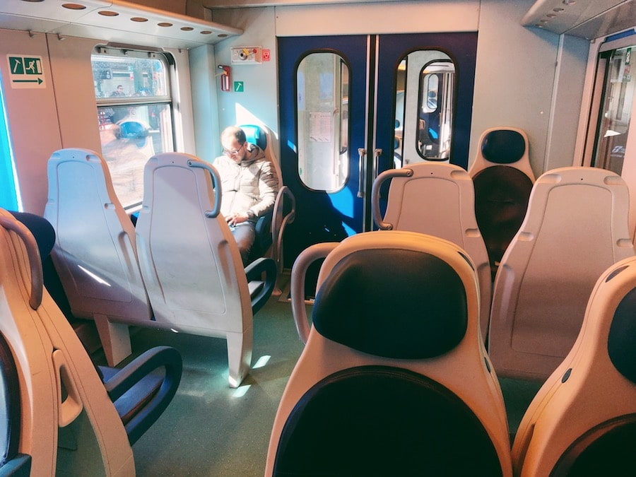 how to get from bari to polignano a mare cheaply by train inside train