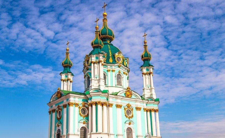 Things to Do in Kiev, Ukraine (Kyiv) st andrews church