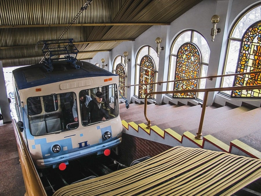 Things to do in Kiev, Ukraine (Kyiv) funicular
