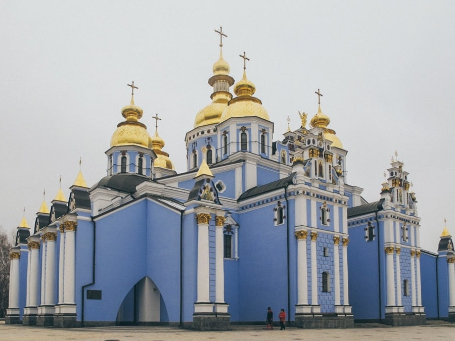Things to do in Kiev, Ukraine (Kyiv) saint michaels monastery