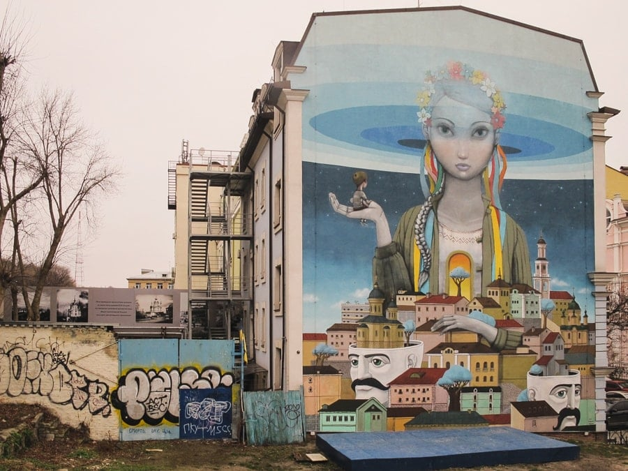 Things to do in Kiev, Ukraine (Kyiv) Street art