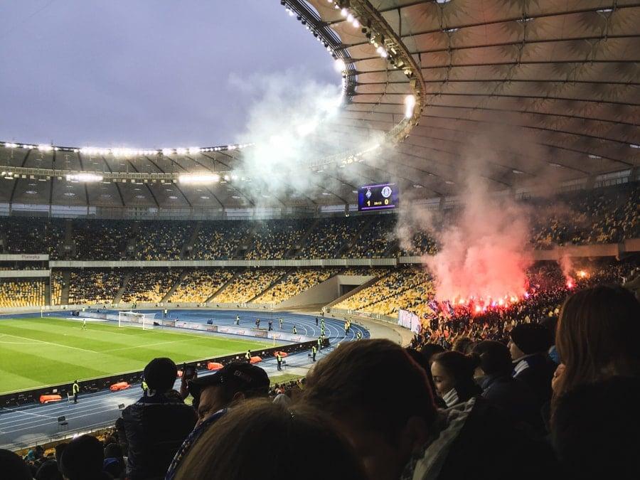 Things to do in Kiev, Ukraine (Kyiv) olympic stadium dynamo kyiv