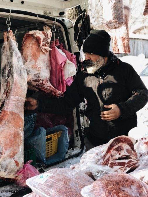 Things to do in Kiev, Ukraine (Kyiv) food market at islamic cultural center kyiv