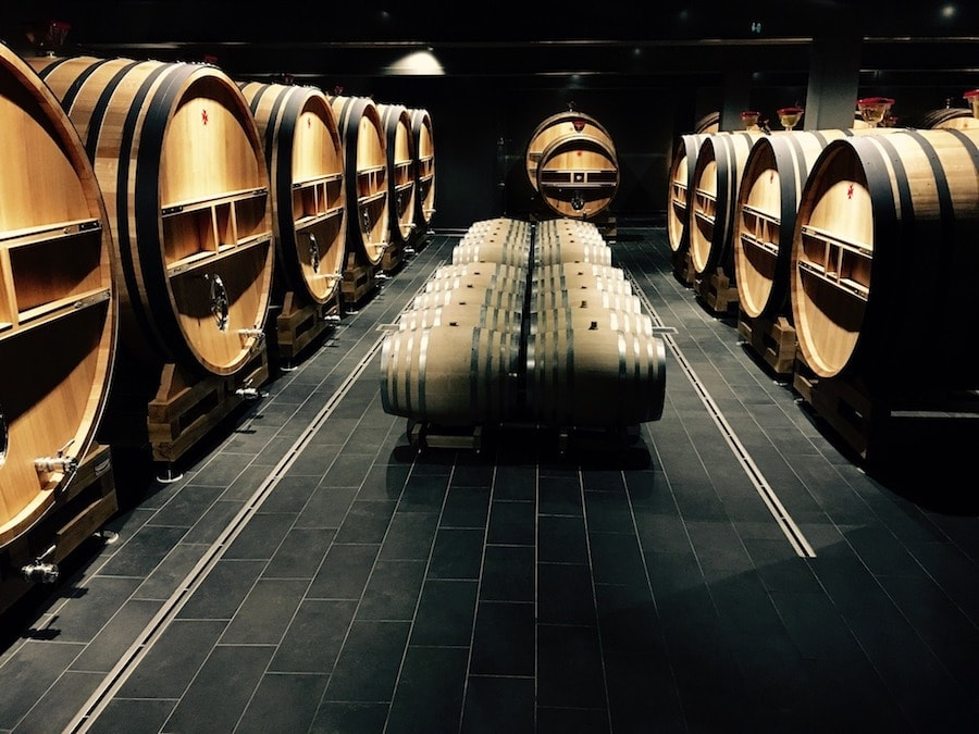 casks for champagne making