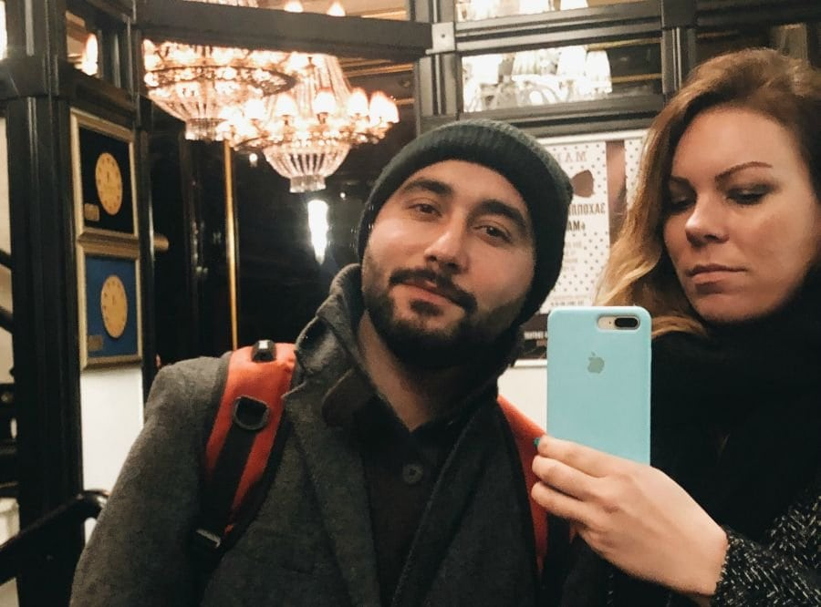 mirror selfies with aram in kiev