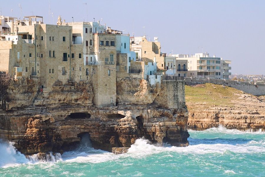 things to do in monopoli - visit polignano a mare
