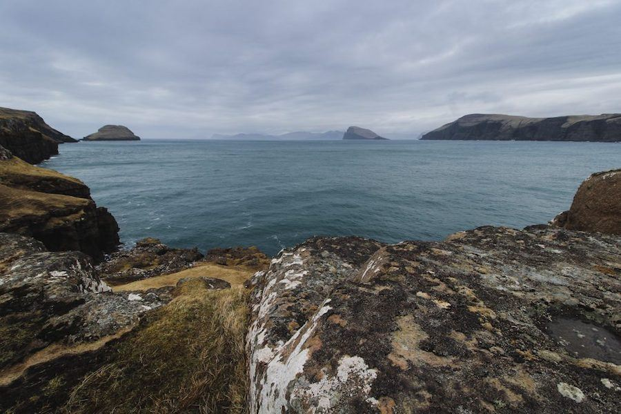 sandoy faroe islands with wide angle lens-min