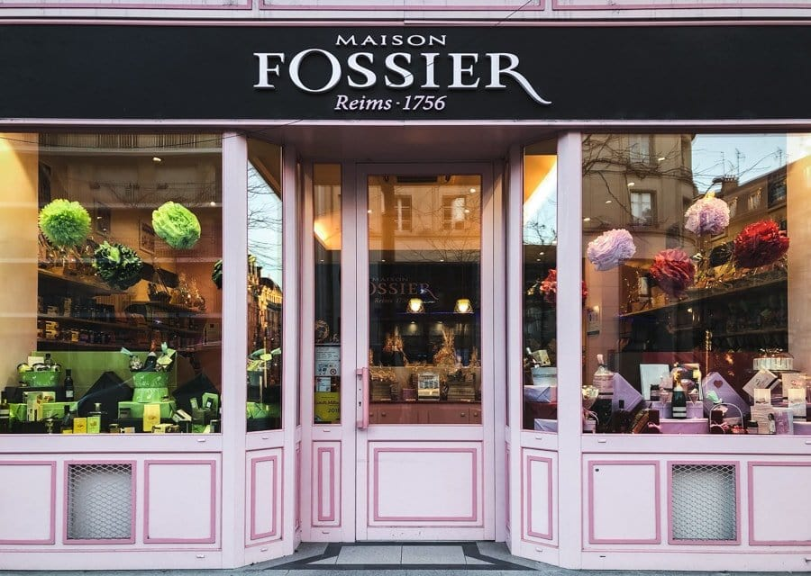 what to do in reims france - maison fossier biscuits