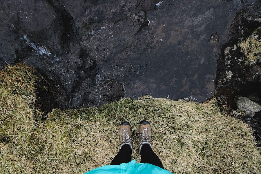 Keen Targhee boots faroe islands